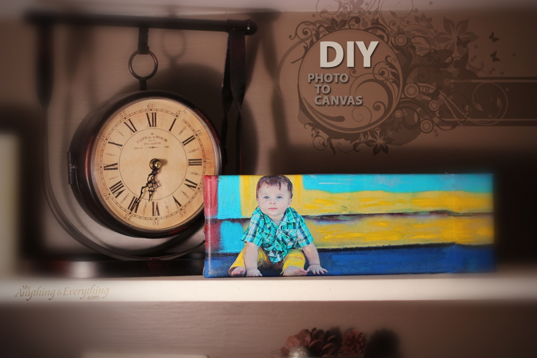 DIY Photo to Canvas Tutorial