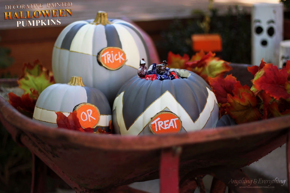 Pick Your Pumpkin – Decorative Halloween Painted Pumpkins