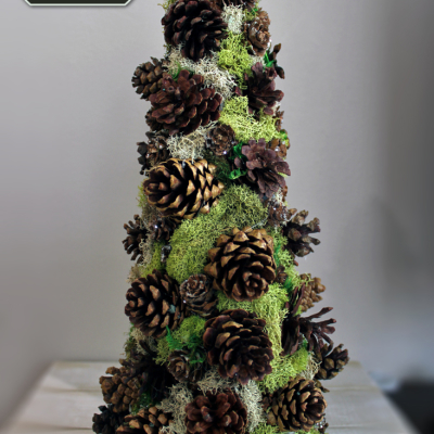 Pinecone Decorative Tree