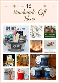 16 Handmade Gift Ideas