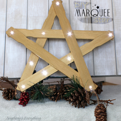 DIY Star Marquee