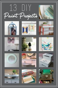 13 DIY Paint Projects