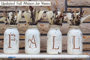 Decorative Mason Jar Vases