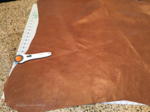 DIY LEather Butterfly chair step 2
