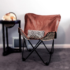 How to make a Leather Butterfly chair 2