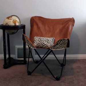 Lather Butterfly Chair Cover final
