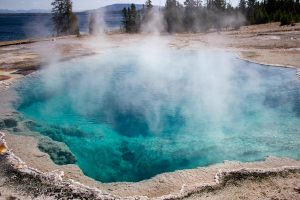 Abyss Pool in West Thumb Geyser Basin